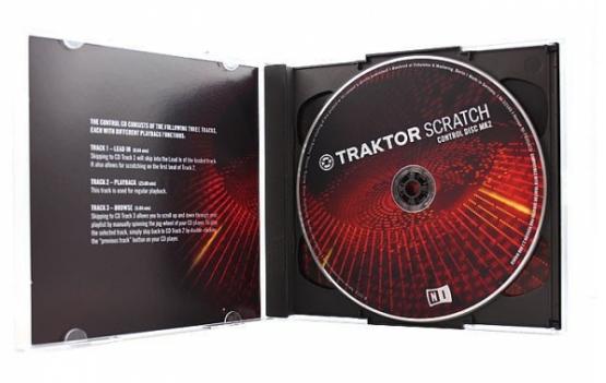 NI Traktor Scratch Control CD MKII (Paar) - Timecode CD