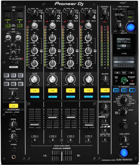 Pioneer DJM-900 NXS2 - Mietpreis
