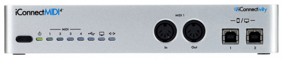 iConnectivity MIDI 4+ Lightning - Midi Interface