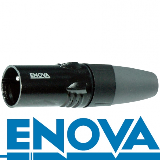 ENOVA XLR M auf Klinken 3 pin Kabel Analog & Digital  15 m