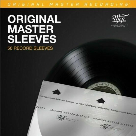 MOFI MFSL Original Master Sleeves, 50 Stk.