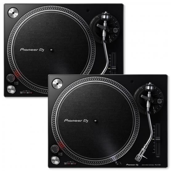 Pioneer PLX-500 Plattenspieler, Set 2 Stück