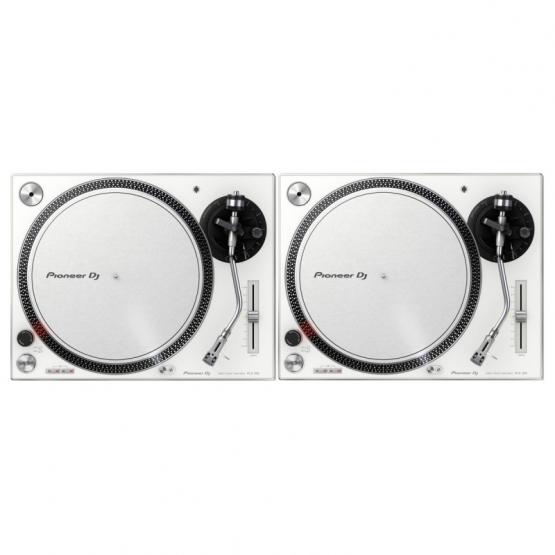 Pioneer PLX-500-W - Set 2 Stück Plattenspieler