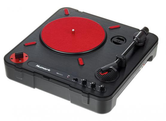 Numark PT01 Scratch - Portabler Plattenspieler
