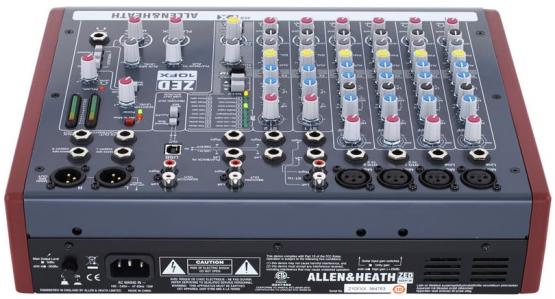 Allen&Heath ZED10FX - 10-Kanal Mischpult