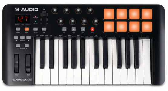 M-Audio Oxygen 25 MK4 - USB Keyboard