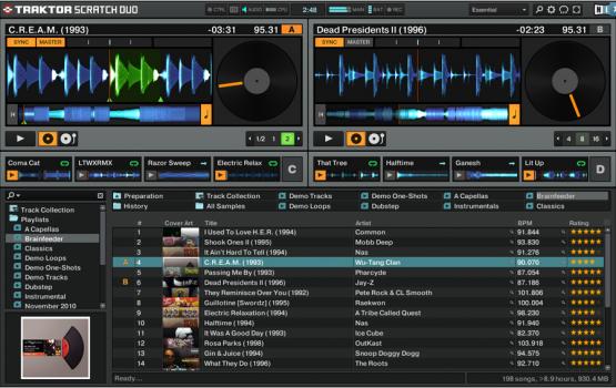 NI Traktor Scratch A6 - DJ Interface Set
