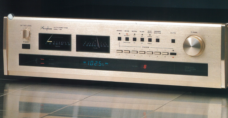 Accuphase Tuner Vintage