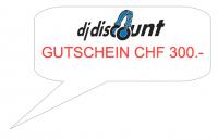 GUTSCHEIN / VOUCHER - CHF 300.-