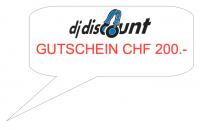 GUTSCHEIN / VOUCHER - CHF 200.-