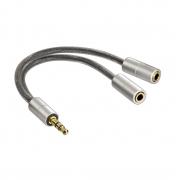 Hama Klinken Adapter 3,5mm (m) / 2 x 3,5mm (f)