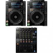 Pioneer CDJ-2000NXS2 + DJM-900NXS2, verfügbar