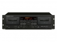 TASCAM 202mkVII - Dual Tape Deck, USB