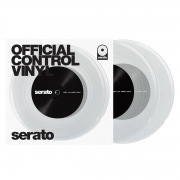 Serato 7 Vinyl  OFFICIAL CONTROL VINLY clear (paar)