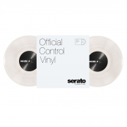 Serato 10Offical Control Vinyl (paar) Clear/Schwarz