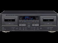 TEAC  W-1200-B Doppel Kassette Deck,Karaoke mixer USB