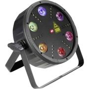 Cameo FLAT STORM LED-Effektstrahler mit Laser