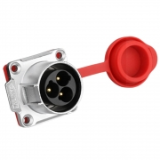 CNLINKO Powerstecker Power 3pin male socket 500 V 25 A