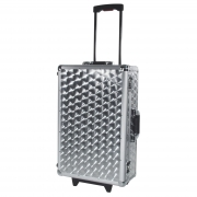 ROADINGER CD-Case poliert mit Trolley