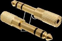 Sennheiser Kopfhörer Adapter 3,5mm/6,3mm Klinke - Steckbar (Stückpreis)