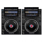 Pioneer 2x CDJ 3000 Bundle - Set