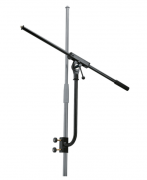 K&M 240/1 schwarz - Montierbarer Mikrofonarm