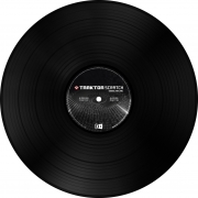 NI Traktor Scratch Control Vinyl Black MKII - Timecode Vinyl