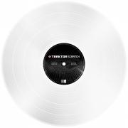 NI Traktor Scratch Control Vinyl White MKII - Timecode Vinyl